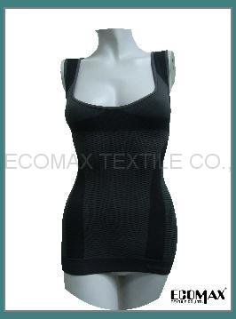 [copy]The black bamboo holds the chest vest