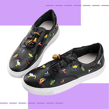 【Robinlo & Co.】Ross Black_Flat Shoes,Platform shoes