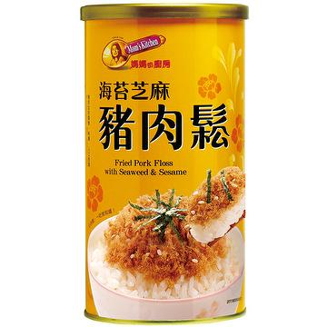 [Pork Floss] Fried Pork Floss with Seaweed & Sesame (200g)