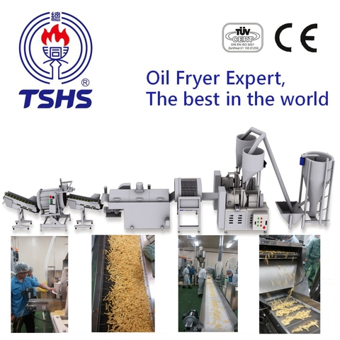 2017 Taiwan Industrial Automatic Cheetos Processing Equipment