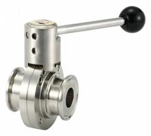 BUTTERFLY VALVE CLAMP END