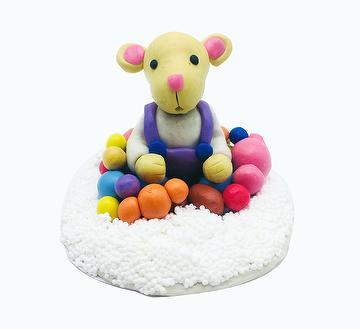 Colorful DIY Toy Craft Play Dough 15g Foam Clay