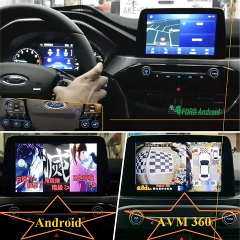 Ford Sync3.4 Reverse camera interface box