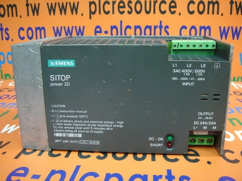 SIEMENS SITOP POWER20 6EP1436-1SH01