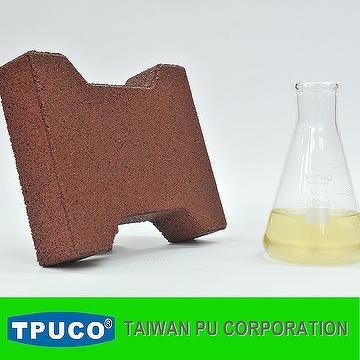 Polyurethane base EPDM granule binder