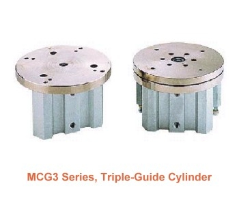 Lift/turn cylinder