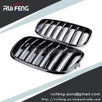 Front Grille Glossy Black For BMW X5 E70 X6 E71 2007-2013
