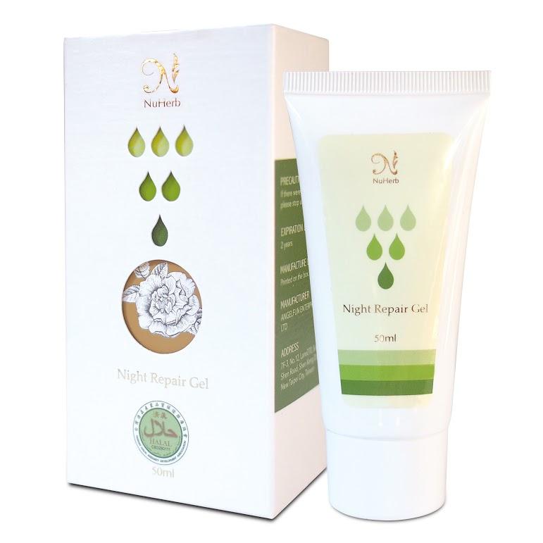 Night Repair Gel, skin care products