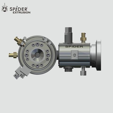 extrusion tip and wire cable extrusion crosshead