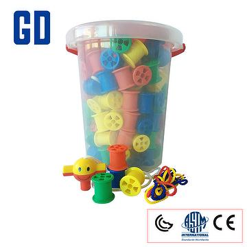 Toys for Cotton reels tub
