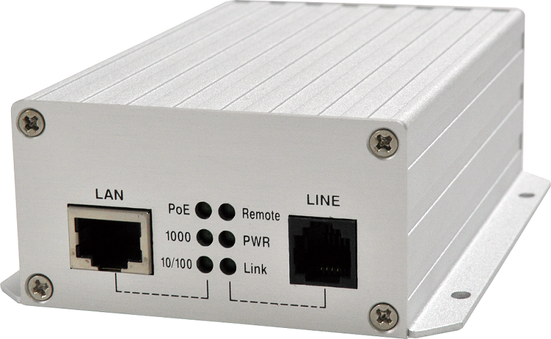 100MP Lite-Industrial Long Reach PoE Extender