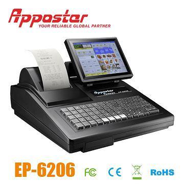 Appostar ECR POS ECR6206 Left