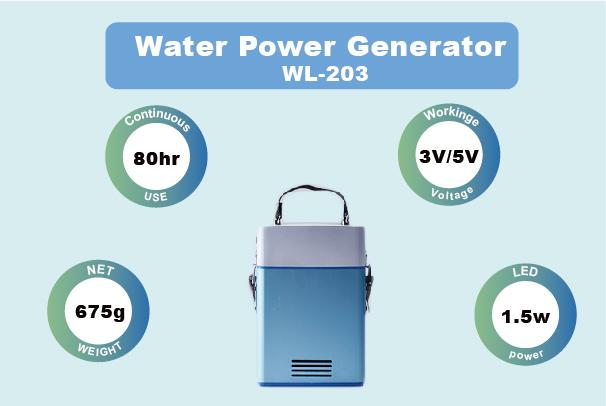 Water Power Bank/Generator #203