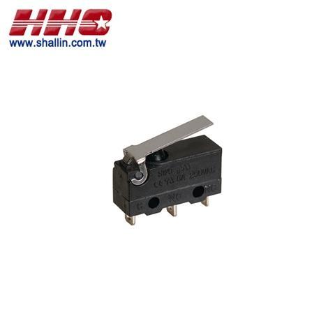 Waterproof mini micro switch, SPDT on-on W/approval