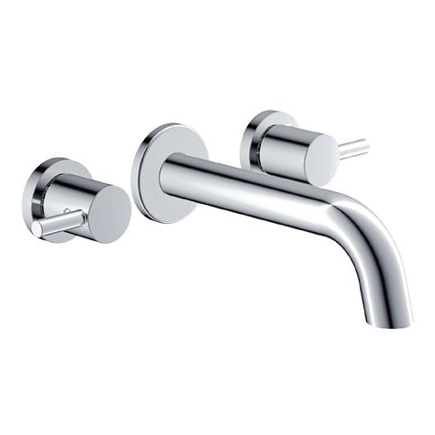 Rotunda - Wall-mounted basin mixer