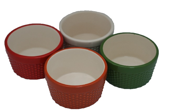 SKILLFUL MANUFACTURE COOKING PORCELAIN RAMEKINS