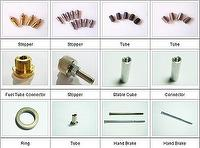 CNC Machine Products Made from Metals and Plastics