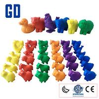 Small TPR Farm  Animals 72 PCS