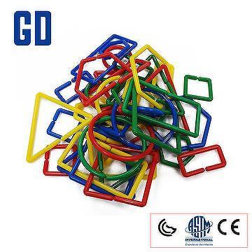 Educational Toys Sorting Rings 100 pcs big size