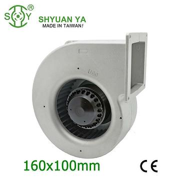 High speed industrial centrifugal blower fans