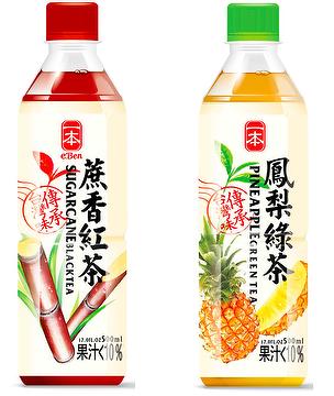 E-BEN Taiwan Featured Fruit Tea Series