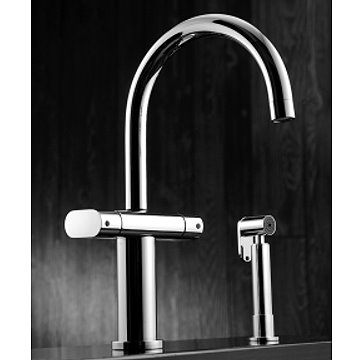 JUSTIME Kitchen Faucet W/Sprayer
