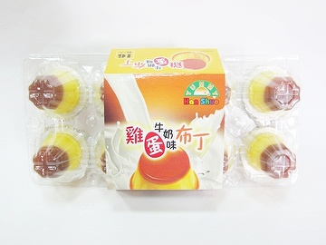 Egg & Milk Flavored Pudding