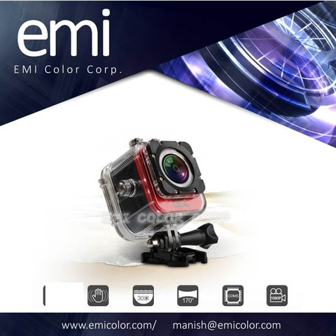 1080P Newest popular 1.5 inch Ultra HD screen, mini waterproof helmet camera