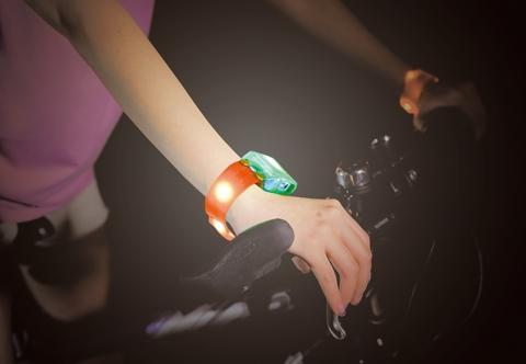 LED Warning Bracelet(Green) with waterproof IP66