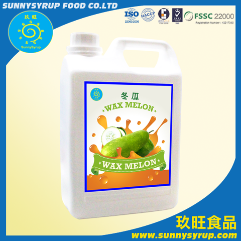 Taiwan Sunnysyrup Wintermelon Concentrated Juice | Taiwantrade