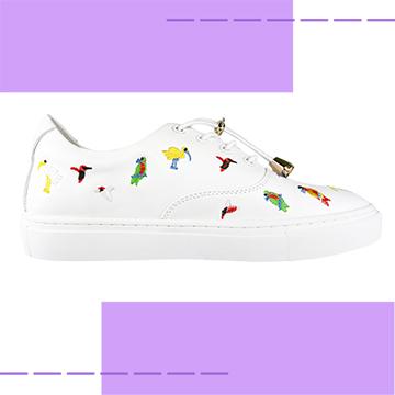 【Robinlo & Co.】Ross White_Flat Shoes,Platform shoes