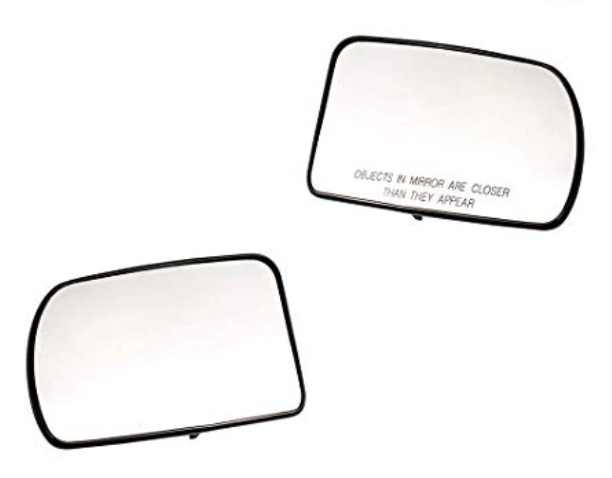 Door Mirror Glass New Replacement Driver Sides For Nissan Altima 07-12