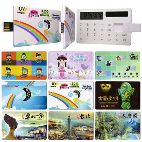 Calculator flash drive . Calculator usb card . USB Business Card . usb flash card