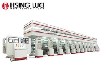 CMYK Rotogravure Printing Machine