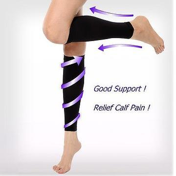 0ea4ecdc9c Taiwan Compression Calf Sleeves 18-22mmHg Calf Slimming Shaper Leg ...