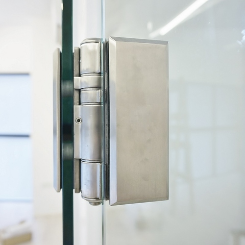 Self-closing Hinge - Glass to Glass Series
