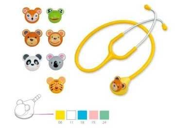 Fun Animal single-head stethoscope