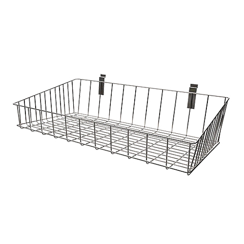 wall mounted decorative metal wire small baskets french.htm metal wire hanging baskets fit slat wire grid panel display shop  metal wire hanging baskets fit slat