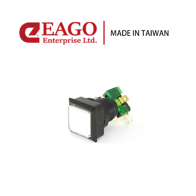 Taiwan Square 32X32mm Thin Type Button gaming machines toggle switch ...