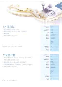 PVD Coating Service- TiN / CrN