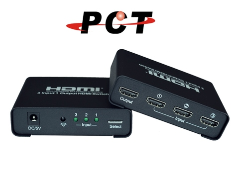 3 Port HDMI 2.0 Switch