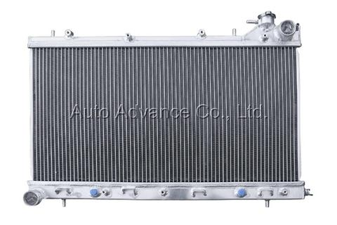 Aluminum radiator 3-row core Subaru Forester 04-07