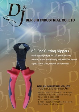 6〞End Cutting Nippers