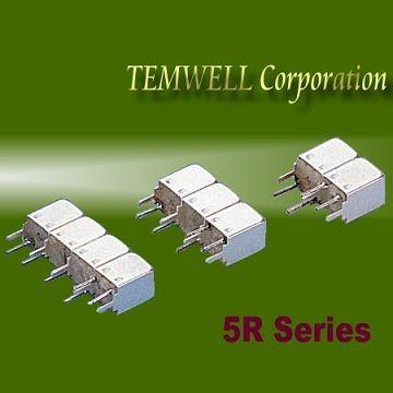 Helical Bandpass Filter- 5R 2 pole Fillter