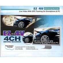 Car DVR Vehicle Tracking DVR System 3.5G Tx & GPS