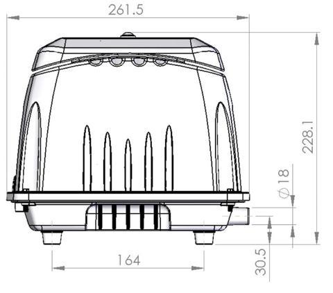 Medium Capacity Linear Air Pump