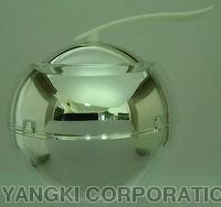 Cosmetic Acrylic Round Jar Container