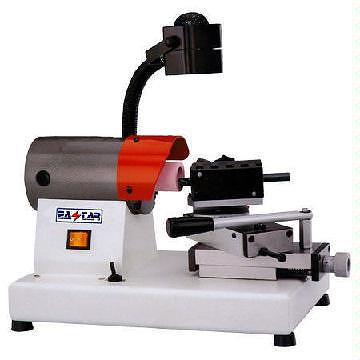 Belt grinder lathe attachment
