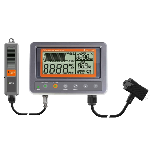 CO2 Controller with Relay, IAQ Monitor CO2 Meter