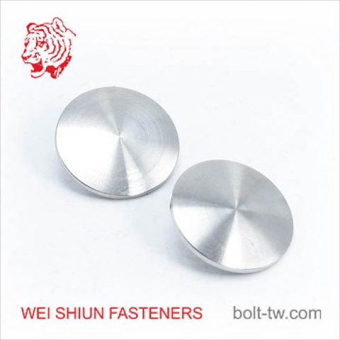 CNC machined parts button for machinery